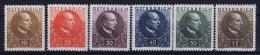 Österreich Mi.-Nr. 512 - 517  MNH/** Sans Charnière  Postfrisch  513 =MH/* Falz/ Charniere  1930