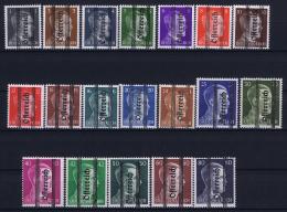 Österreich Mi.-Nr.  674 - 692  1945 MH/* Falz/ Charniere Signiert Muller Basel
