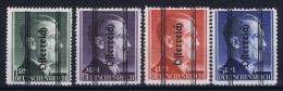 Österreich Mi.-Nr.  693 - 696  1945 MH/* Falz/ Charniere Signiert Zenker BPP + Muller Basel - 1945-.... 2. Republik