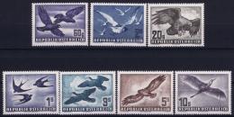 Österreich Mi.-Nr. 955 - 56 + 968 + 984 - 987  1950 - 1955 Airmail  MNH/** Sans Charnière  Postfrisch - Airmail