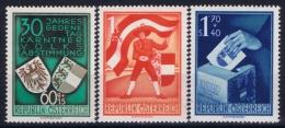 Österreich Mi.-Nr. 952 - 954 MNH/** Sans Charnière  Postfrisch  1950