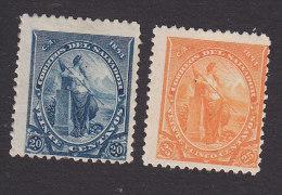 El Salvador, Scott #97-98, Mint Hinged, Liberty, Issued 1894 - El Salvador