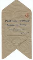 LETTRE SPECIA RHONE POULENC DOUBLE ADRESSE NOVEMBRE 1945 POUR DARRASSE FRERES TOULOUSE - Y & T CERES DE MAZELIN 681- 2 S - Postmark Collection (Covers)