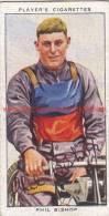 1937 Speedway Rider Phil Bishop - Trading Cards