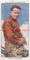 1937 Speedway Rider Frank Charles - Trading Cards