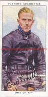 1937 Speedway Rider Eric Chitty - Trading Cards