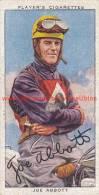 1937 Speedway Rider Joe Abbott - Trading Cards