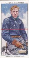 1937 Speedway Rider George Greenwood - Trading Cards