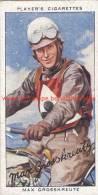 1937 Speedway Rider Max Grosskreutz - Trading Cards