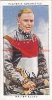 1937 Speedway Rider Walter Lloyd - Trading Cards