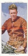 1937 Speedway Rider Claude Rye - Trading Cards