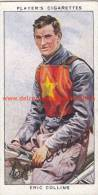 1937 Speedway Rider Eric Collins - Trading Cards
