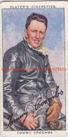 1937 Speedway Rider Tommy Croombs - Trading Cards