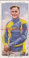 1937 Speedway Rider Billy Dallison - Trading Cards
