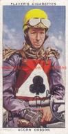 1937 Speedway Rider Acorn Dobson - Trading Cards