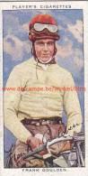 1937 Speedway Rider Frank Goulden - Trading Cards