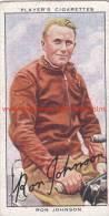 1937 Speedway Rider Ron Johnson - Trading Cards