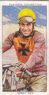 1937 Speedway Rider Nobby Key - Trading Cards