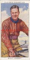 1937 Speedway Rider Billy Lamont - Trading Cards