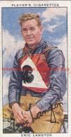 1937 Speedway Rider Eric Langton - Trading Cards