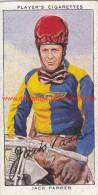 1937 Speedway Rider Jack Parker - Trading Cards