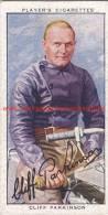 1937 Speedway Rider Cliff Parkinson - Trading Cards
