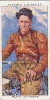 1937 Speedway Rider Harry Shepherd - Trading Cards