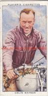 1937 Speedway Rider Colin Watson - Trading Cards