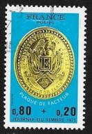 N° 1838  FRANCE  -  OBLITERE  -  Journee Du Timbre  -  1975 - France
