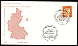 Germany Berlin 1972 / German President Dr. Gustav Heinemann - Celebrità