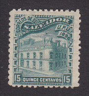 El Salvador, Scott #152, Mint No Gum, Post Office, Issued 1896 - El Salvador
