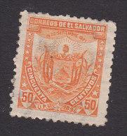 El Salvador, Scott #156, Mint Hinged, Coat Of Arms, Issued 1896 - Salvador