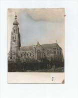 Hoogstraten Kerk Vernietigd In 1944 Door De Duitsers  Fotokaart Van Handelsblad - Hoogstraten