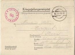 Stalag VII A 96-correspondance Des Prisonniers De Guerre--kommando 1635-allemagne - Militaria