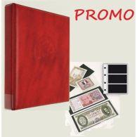 Promo Classeur Billets Yvert Et Tellier - Reliure Caravelle + Feuilles 3 Poches - Unclassified