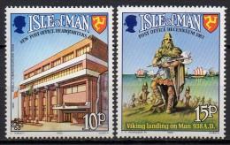 Ile De Man - 1983 - Yvert N° 237 & 238 ** - Année De La Communication - Man (Insel)
