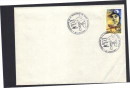 Centenaire De La Naissance De SAINT-EXUPERY . Lucciana Borgo 31 Juillet 2000. Timbre Saint Exupéry. - Commemorative Postmarks
