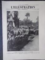 L´illustration N° 3681 13 Septembre 1913 M. Raymond Poincaré En Limousin, La Catastrophe Du Zeppelin L-1 - Giornali