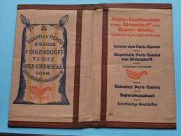 GUANO Du PEROU Dissous D'OHLENDORFF Anglo-Continentale Import PERU Agence ANVERS ( Zie Foto's ) ! - Autres Collections