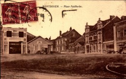 Somme, Montdidier, Place Faidherbe   (bon Etat) - Montdidier