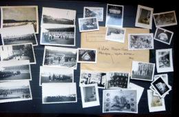 CHANTIER DE JEUNESSE EN ALLEMAGNE 34  PHOTOS ORIGINALES  1944  CAMP EN ALLEMAGNE - 1939-45