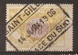 FEH-1599       SAINT GILLES           //     PLACE DU SUD      OCB  TR  39 - 1895-1913