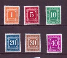 OUGANDA-UGANDA  1967 TAXE  YVERT N°T1/6 NEUF MNH** - Uganda (1962-...)