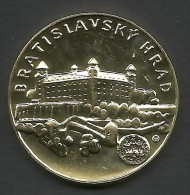 Slovakia, Bratislava, Hrad, Souvenir Jeton - Tokens & Medals