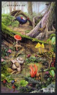 TAIWAN 2012 Rep Of CHINA Mushrooms Beetle Pheasant Squirrel Nature Forest SS MNH