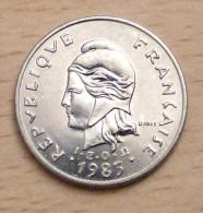 Nouvelle Calédonie 10 Francs 1983 - Nouvelle-Calédonie