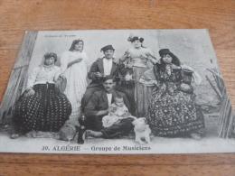CP  GROUPE DE MUSICIENS - Algérie