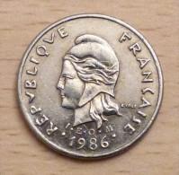 Nouvelle Calédonie 10 Francs 1986 - Nuova Caledonia