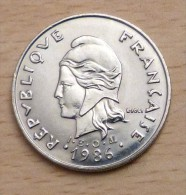 Nouvelle Calédonie 20 Francs 1986 - Neu-Kaledonien