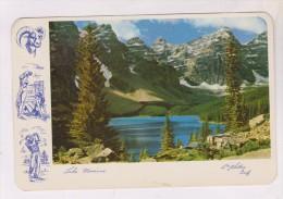 CPM LAC MORINE (voir Timbre) - Lac Louise